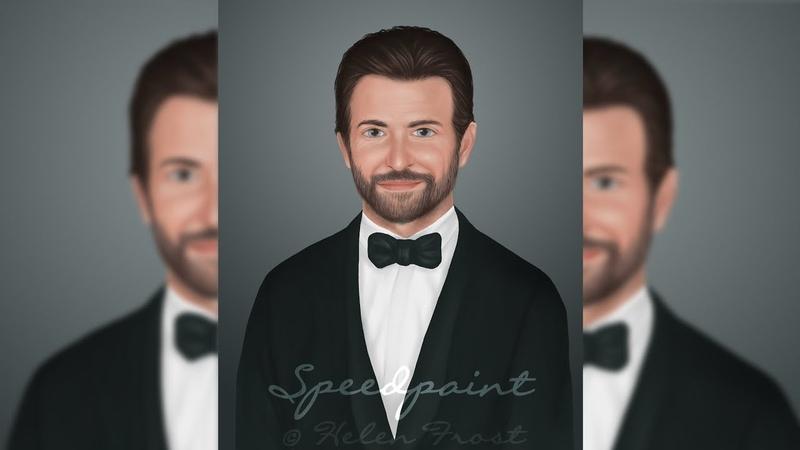 Speedpaint 🔸 art Bradley Cooper 🔸 Спидпейнт портрет Брэдли Купера 🔹 Немного о том как я рисую