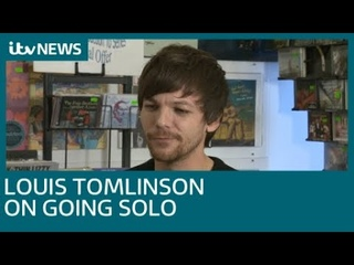 louis tomlinson on his debut album, meeting fans and going solo from 1d | itv news