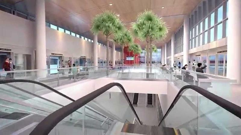 Virtual Tour of Tampa International Airport Expansion - Part 2