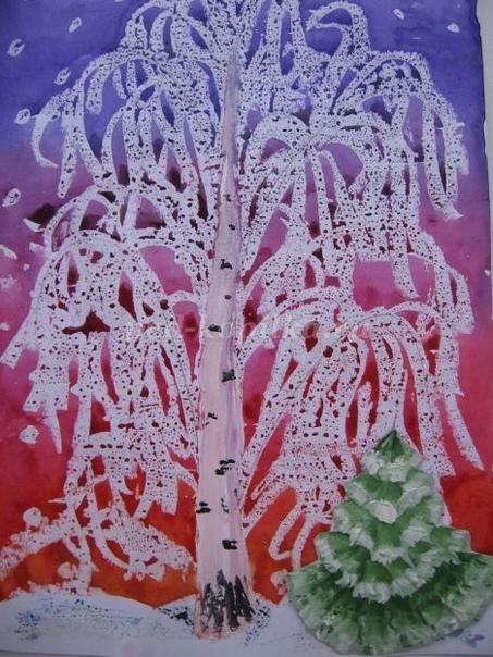 «Белая берёза под моим окном» Автор: Лебедева Елена Николаевна