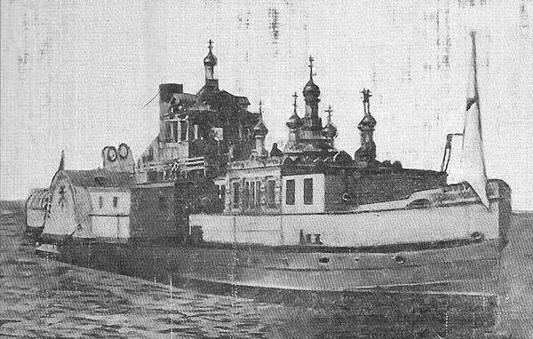 Самый необычный корабль.