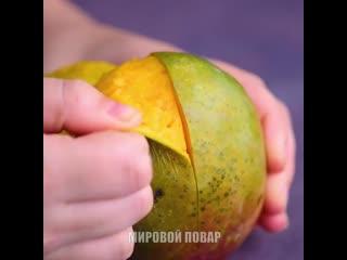 Чистим овощи и фрукты за 10 сек