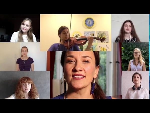 Freunde lass uns fröhlich loben Vocal Workshop mit Karolina Trybala SommercampOnline