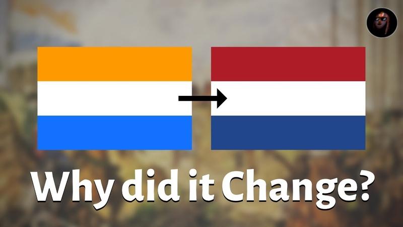 Why isn't the Dutch Flag Orange