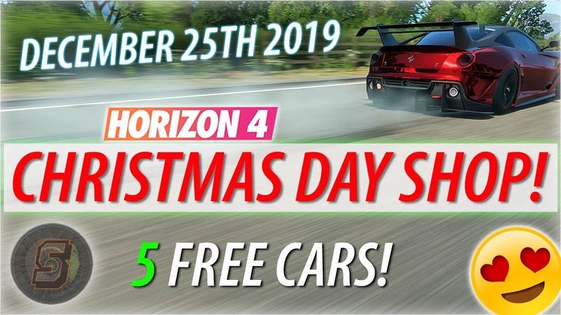 CHRISTMAS Forzathon Shop CARS Forza Horizon 4 December 25TH Forzathon Shop Pre Order Car 599XX Evo