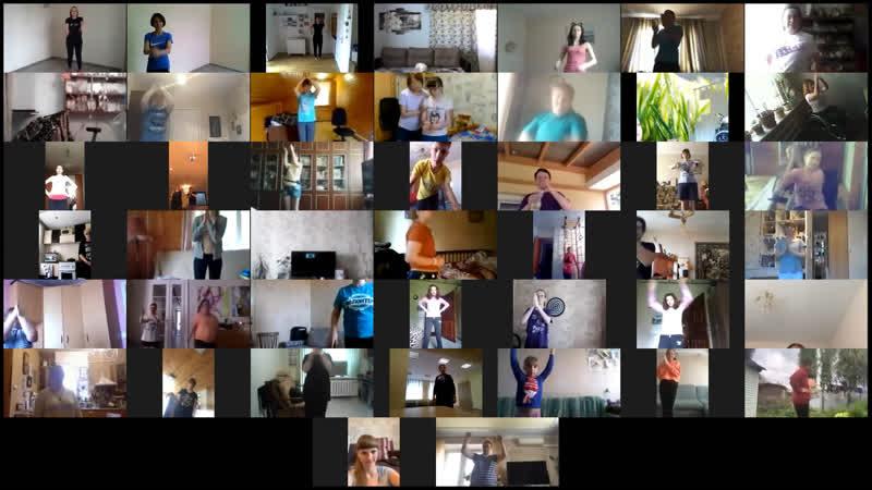 1 июня вместе в танце. Международная онлайн-школа Inclusive Dance.
