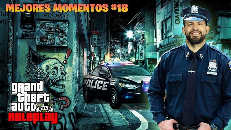KUN SE HACE POLICIA EN GTA ROLEPLAY AGUERO MEJORES MOMENTOS 18