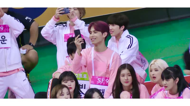 190812 @ 2019 Idol Star Athletic Championship ISAC Chuseok Special