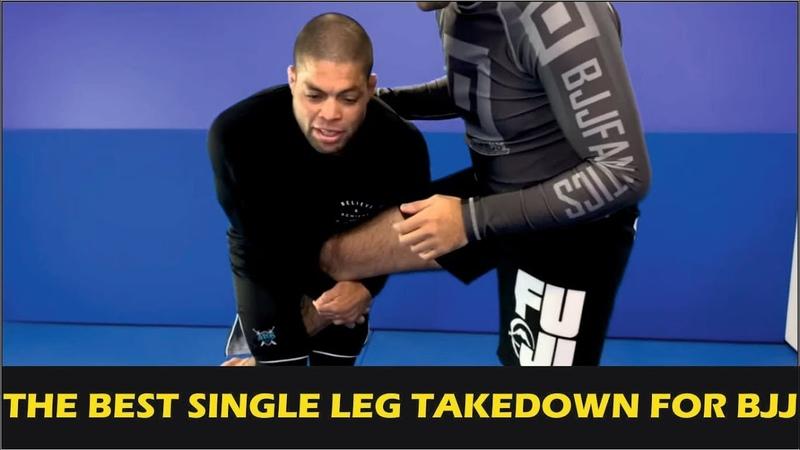 The Best Single Leg Takedown For Brazilian Jiu Jitsu by Andre Galvao