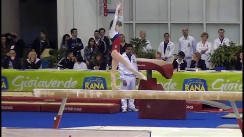Favorite Anastasia Grishina Balance Beam 2012 Jesolo