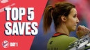 Top 5 Saves Preliminary Round Day 1 Womens EHF EURO 2020