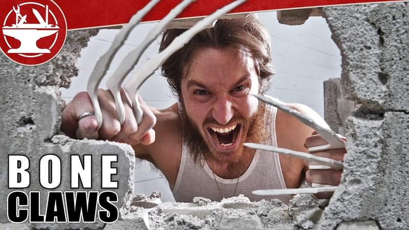 Wolverine Bone Claws VS CONCRETE