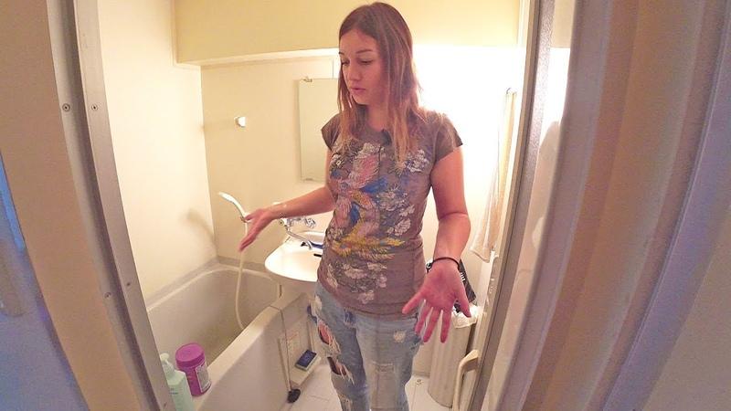 Квартиры в Японии В унитазе моют руки Киото Япония Серия 15