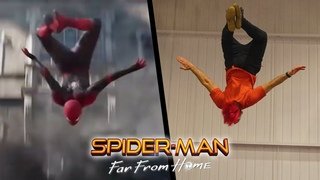 Stunts From Spider-Man: Far From Home In Real Life (Parkour)