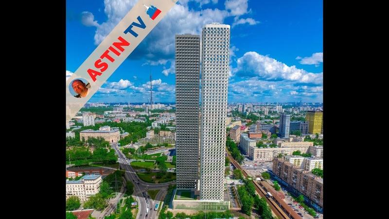 Московские дворики Старые и новые дома и их территории