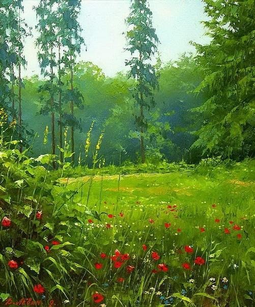Немного прекрасного от художника Дмитрия Левина