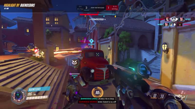 Decided to play one game after a month and I hit this sleep that im quite proud of. I dont play Ana much.