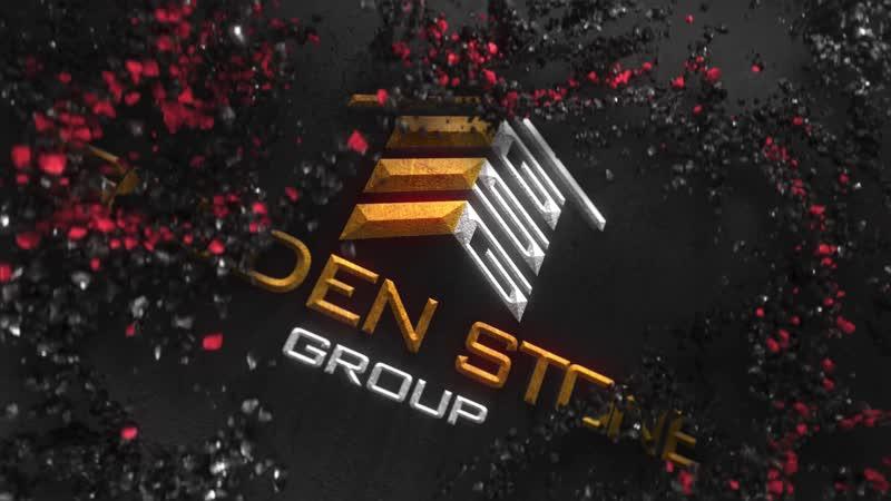 Анимация логотипа Golden Stone Group