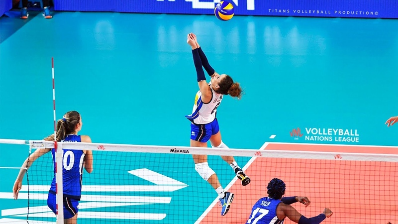 Monica De Gennaro Unbelievable Volleyball Digs Saves Best Libero Actions Women s VNL 2019