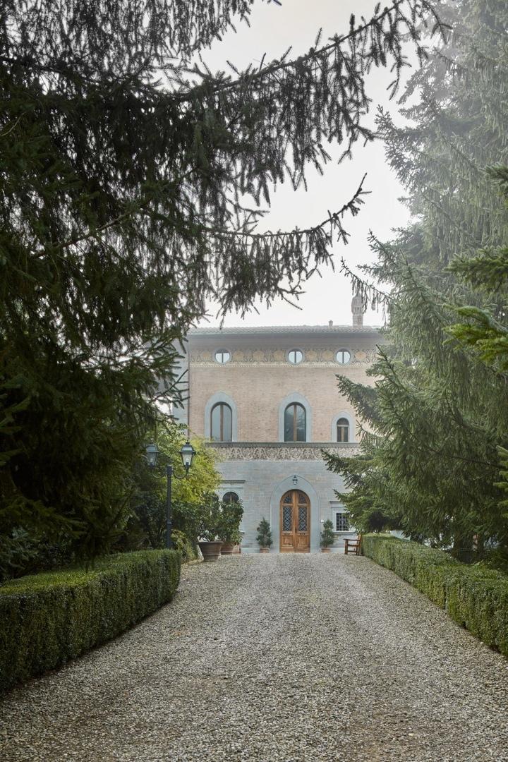 Вилла в Тоскане по проекту Натальи Пантюхиной || 02