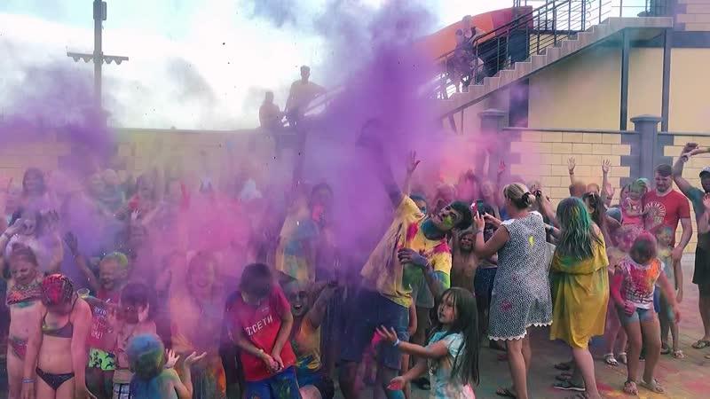 Фестиваль красок холи💥 Туристический Комплекс ПРИБОЙ