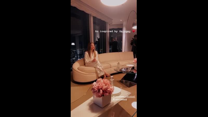 Аманда на общении с прессой о «Lancôme» в Токио, Япония | 14.01.20