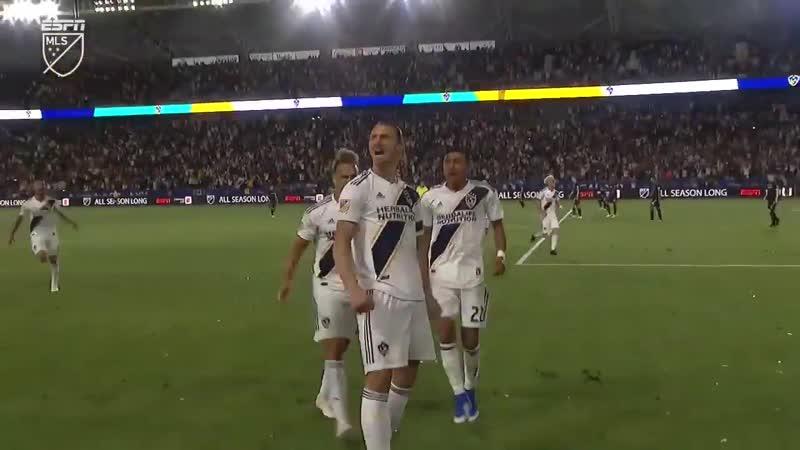 Хет-трик Ибрагимовича | ЛА Гэлакси 3-2 Лос-Анджелес