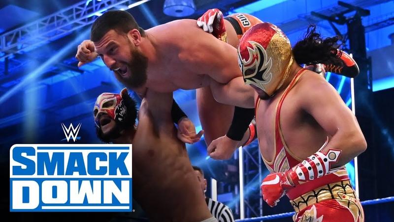 Gran Metalik vs. Lince Dorado vs. Shorty G vs. Gulak – Fatal 4-Way Match SmackDown, July 24, 2020