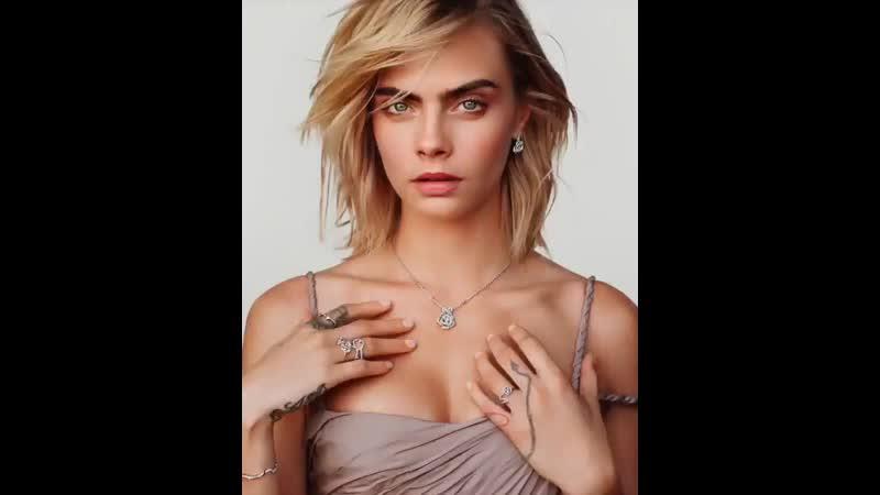 Кара для рекламной кампании Dior