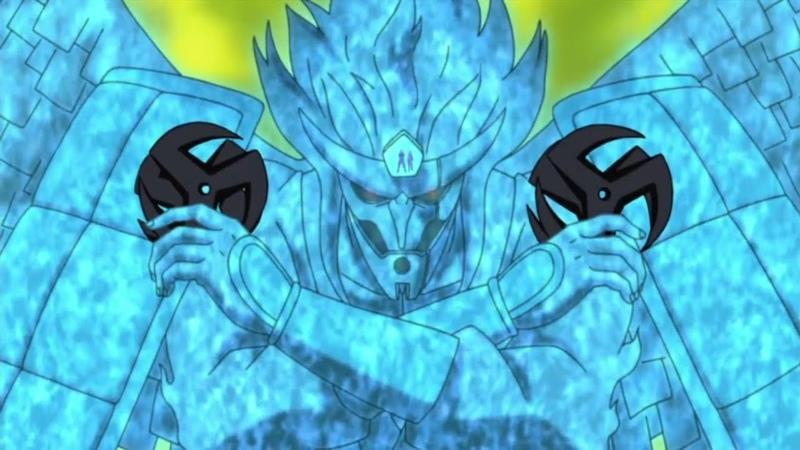 Kakashi Unlocks Perfect SusanOo Obito's death Naruto Shippuden