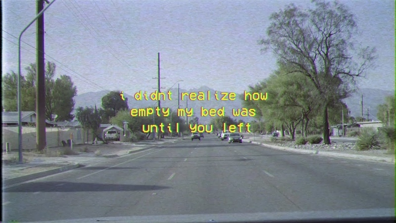 I didnt realize how empty my bed was until you left [roderick porter] Lyrics