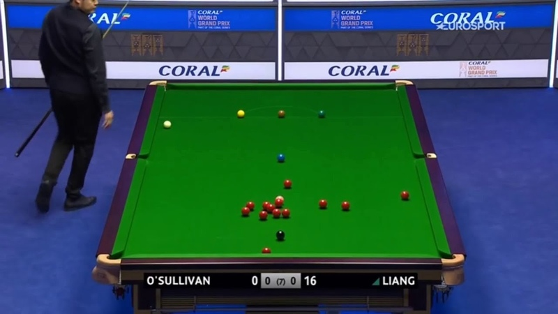Ronnie OSullivan vs Liang Wenbo - 2020 Grand Prix