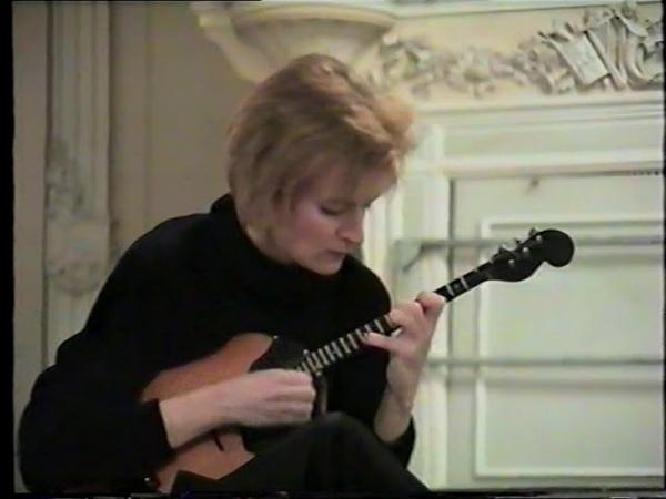 Алина Богук домра и Людмила Плоцкая ф но Концерт Спб Консерватории 1995г