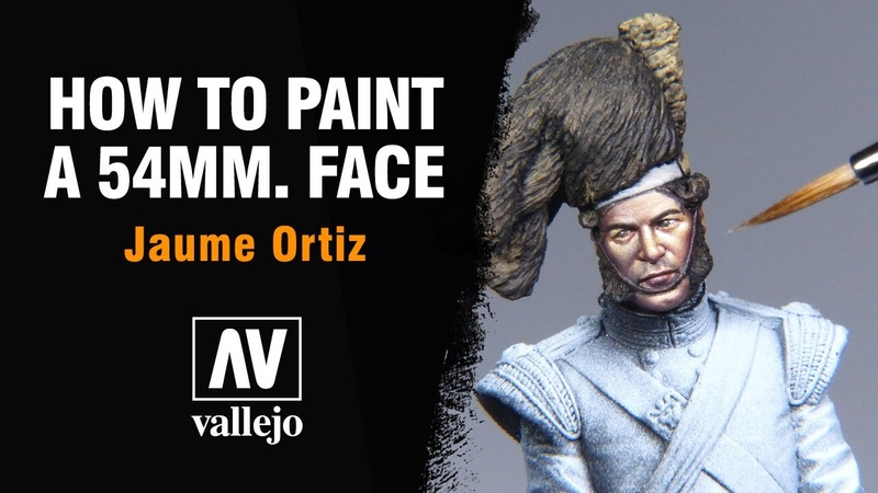 🔴How to PAINT a 54mm FACE