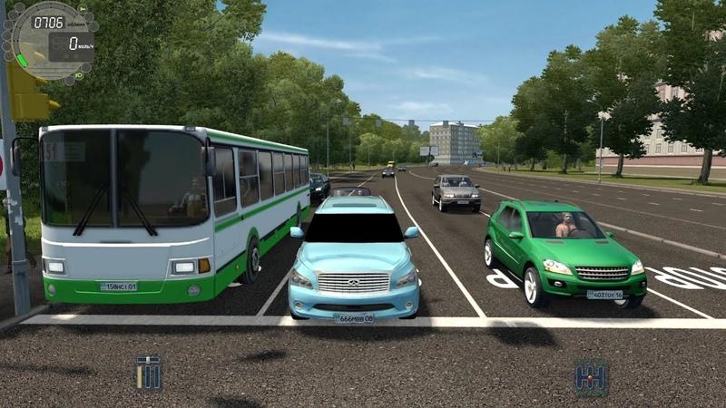 City Car Driving Infiniti QX56 l Fast Driving Link CCD Gameplay G29