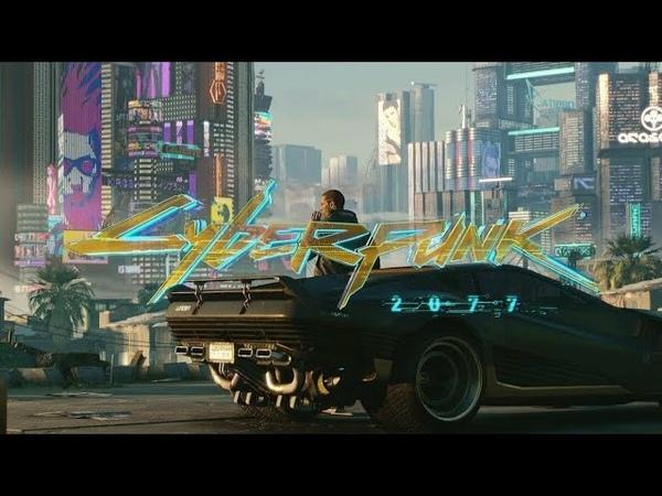 Добро пожаловать в Найт Сити город мечты Cyberpunk 2077 заставка на русском языке
