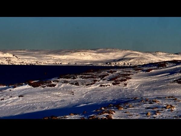 За полярный круг на жигулях Дорога в Териберку Северный Ледовитый океан Ледяные пустыни