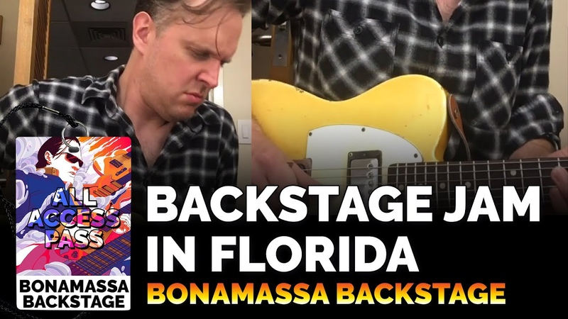 Joe Bonamassa Official - Jamming Backstage in 2017 - Bonamassa Backstage