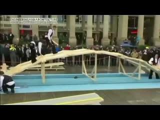 На что способен мост Да Винчи - наглядно