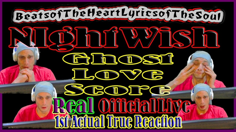 NightWish Ghost Love Score Reaction to Official Live 1st Actual Reaction to NightWish Apology