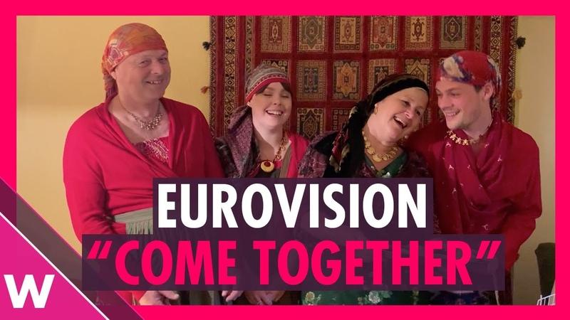 BBC Eurovision Come Together Fan submission outtakes Babushki Jedward Koza Mostra