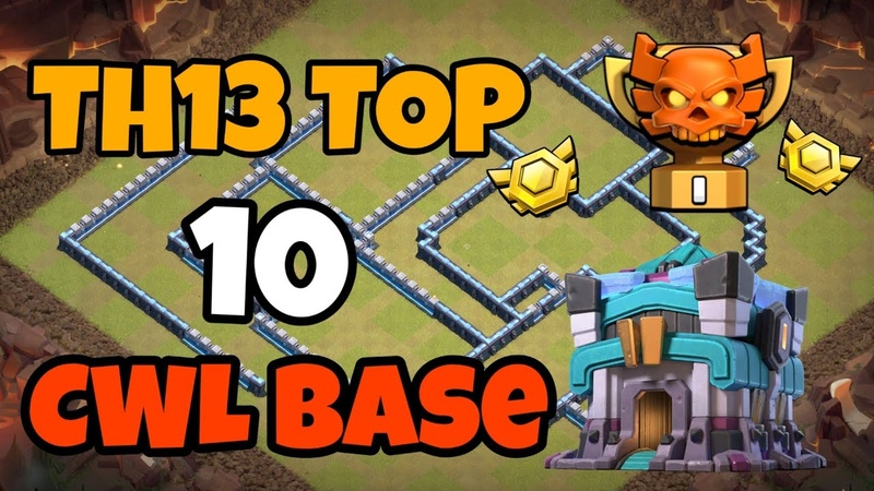 TOP 10 TH13 bases for CWL with link | New TH13 war bases July 2020 | cwl base th13 | clash of clans