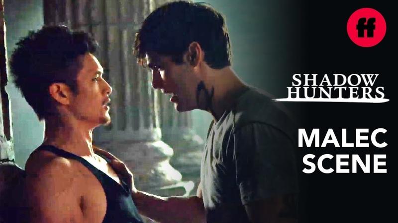 Shadowhunters Season 3 Episode 12 Malec Training Scene Music Mattis The Chain