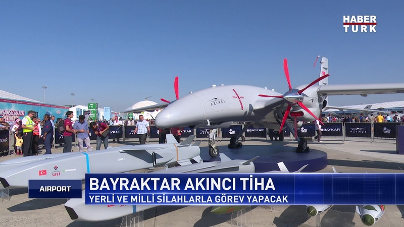 Akıncı TİHA Türkiye'yi 1 Lige Taşıdı