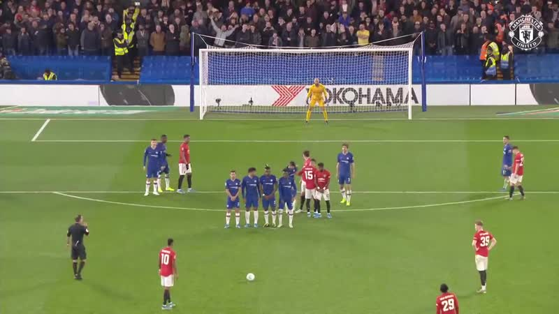 Rashford Free Kick All The Angles Chelsea 1 2 Manchester United Carabao Cup