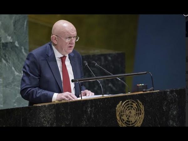 Выступление Постоянного представителя В А Небензи на заседании ГА ООН по Украине