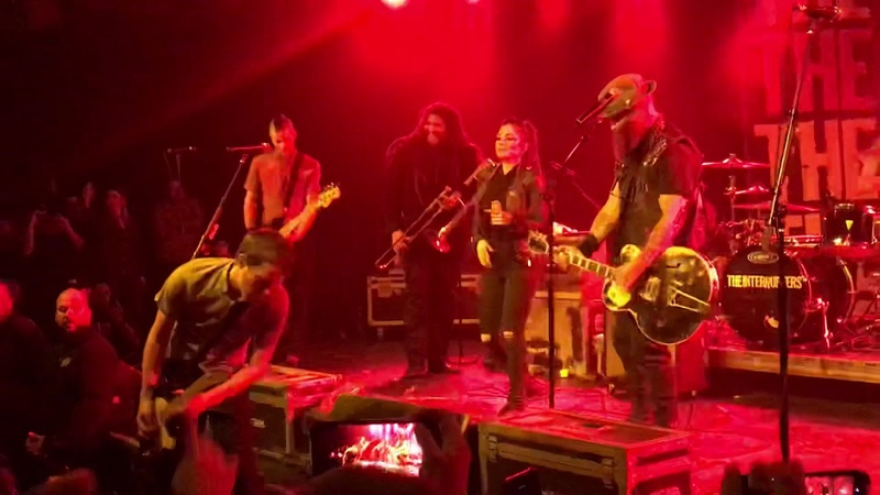 "The Interrupters w Tim Armstrong Perform Got Each Other"" and Family"" at the Glass House"