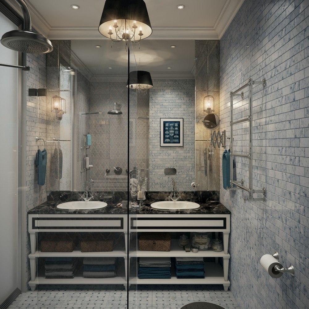 Проект однокомнатной квартиры в Москве