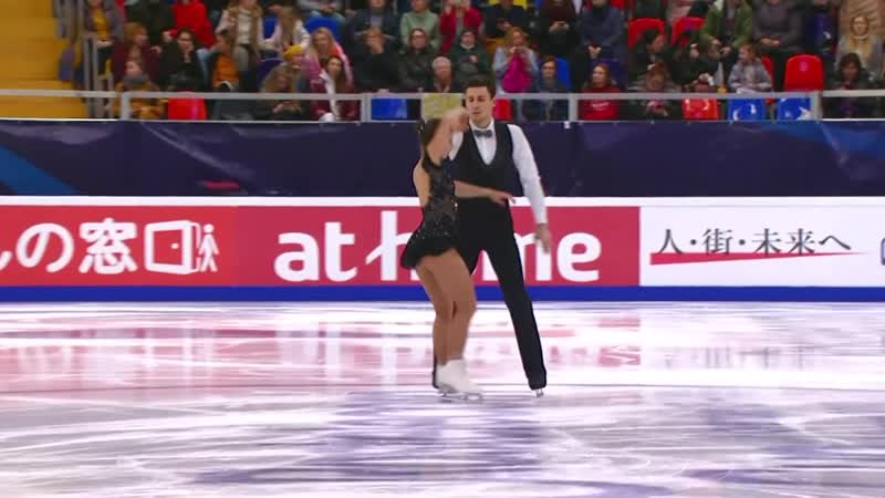 Pairs Free Skating Rostelecom Cup 2019 @GPFigure Full HD