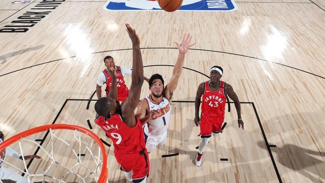 Контрольный матч НБА  Финикс Санз — Торонто Рэпторс 28.07.2020